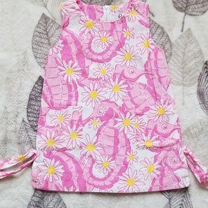 Lilly Pulitzer Seahorse & Daisy Dress